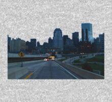 Boston Skyline At Daybreak One Piece - Short Sleeve