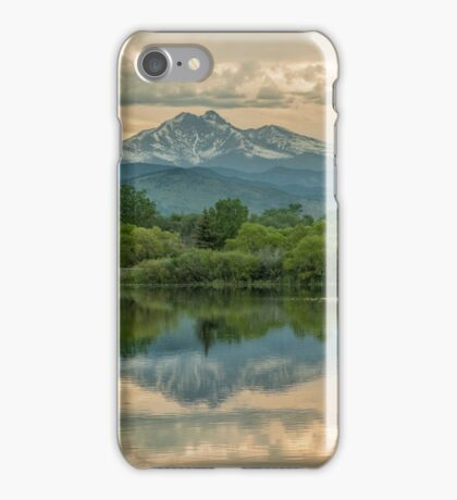 Golden Ponds Reflections iPhone Case/Skin