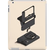 ElectroVideo Megadrive/Genesis (Black) iPad Case/Skin