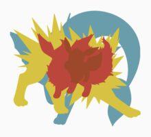 Eevee Pokemon Evolution silhouett by blasteryuii