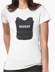 Haught Bullet Proof Vest - Wynonna Earp Womens Fitted T-Shirt
