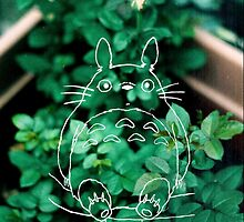 Green Totoro by thatkidcece