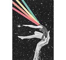 Rainbow dancer Photographic Print