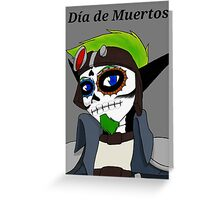 Jak Day of the Dead Greeting Card
