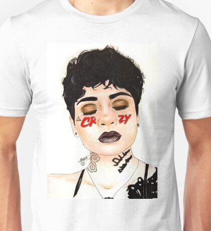 CRZY Kehlani Tsnmi Drawing Art Unisex T-Shirt