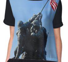 Iwo Jima Chiffon Top