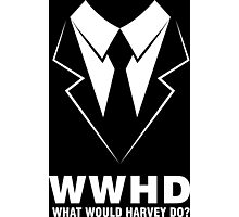 What Would Harvey Do Photographic Print