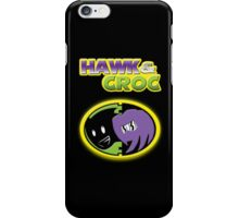 Hawk & Croc Lock-On shirt iPhone Case/Skin