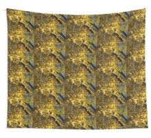 Golden Canopy - Look Up to the Trees and Enjoy Autumn - Horizontal Right Wall Tapestry