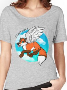 I don't give a FLYING FOX Women's Relaxed Fit T-Shirt