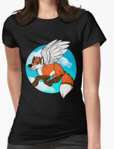 I don't give a FLYING FOX Womens Fitted T-Shirt