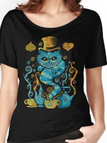 cat gothic Women's Relaxed Fit T-Shirt