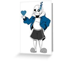 you are blue now Greeting Card