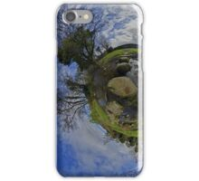 Stepping Stones Across Kilkeel River, County Down iPhone Case/Skin