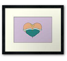 Jasmine's Heart Framed Print