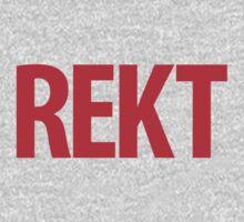 REKT One Piece - Short Sleeve