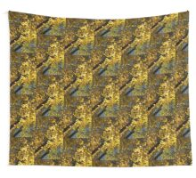 Golden Canopy - Look Up to the Trees and Enjoy Autumn - Vertical Left Wall Tapestry