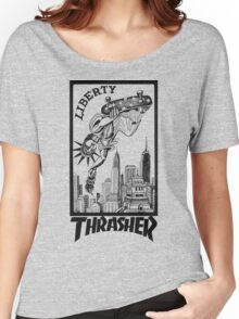 Thrasher Liberty Women's Relaxed Fit T-Shirt