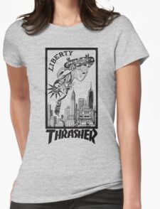 Thrasher Liberty Womens Fitted T-Shirt