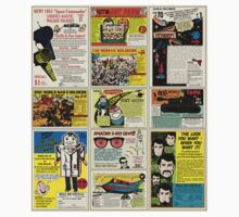 Vintage Comic Ads One Piece - Short Sleeve