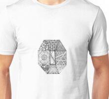 Zentangle Pattern 7 Unisex T-Shirt