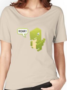 Poly Poly Dinosaur Women's Relaxed Fit T-Shirt