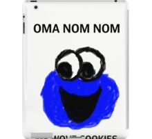 Cookie monster iPad Case/Skin