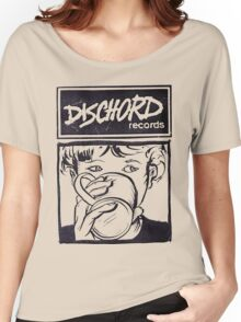Dischord Records Women's Relaxed Fit T-Shirt