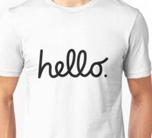 Macintosh hello Unisex T-Shirt