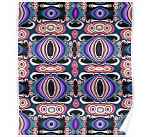 Cute Colourful Pattern Poster