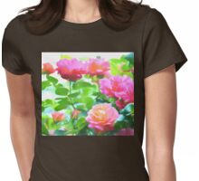 Rose 379 Womens Fitted T-Shirt