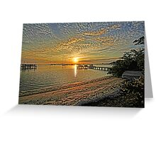 Mornings Embrace  Greeting Card