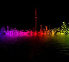 Toronto Rainbow Reflection Sticker