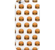 burger emoji iPhone Case/Skin
