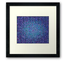 THE RHO CHANNEL OF INPUT FOR HYPERDRIVE Framed Print