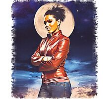 Martha Jones (vignette) Photographic Print