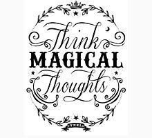 Think Magical Thoughts Womens Fitted T-Shirt