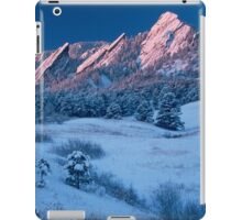 Cathedral - The Flatirons At Sunrise iPad Case/Skin