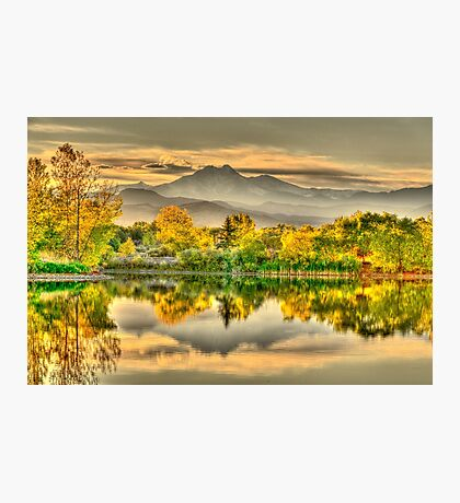 Golden Moments, Gilded Dreams Photographic Print