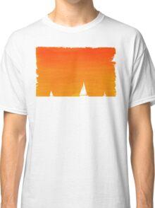 Ships at Sunset Classic T-Shirt