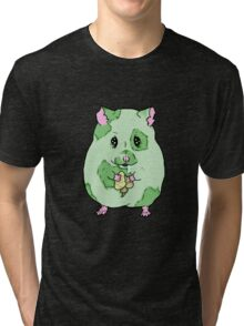 Zombie Hamster Tri-blend T-Shirt