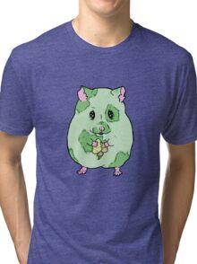 Zombie Hamster Tri-blend T-Shirt