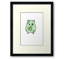 Zombie Hamster Framed Print