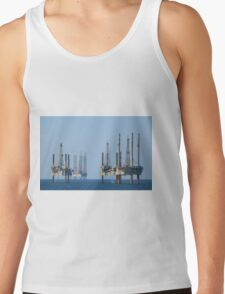 Four Jack Up Platforms Tank Top