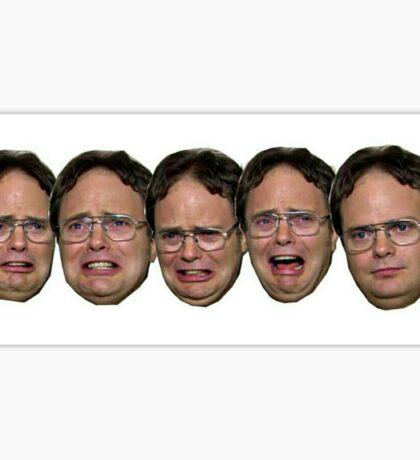 Dwight doesn't miss Jim Sticker
