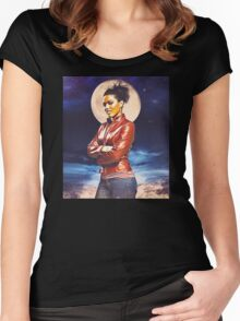 Martha Jones Women's Fitted Scoop T-Shirt