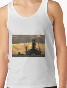 Offshore Rig at Dawn Tank Top