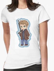 Dean Winchester Chibi Womens Fitted T-Shirt