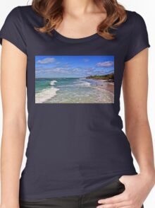 Florida Gulf Beaches Women's Fitted Scoop T-Shirt