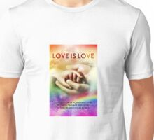 Love is Love Poetry Anthology Unisex T-Shirt